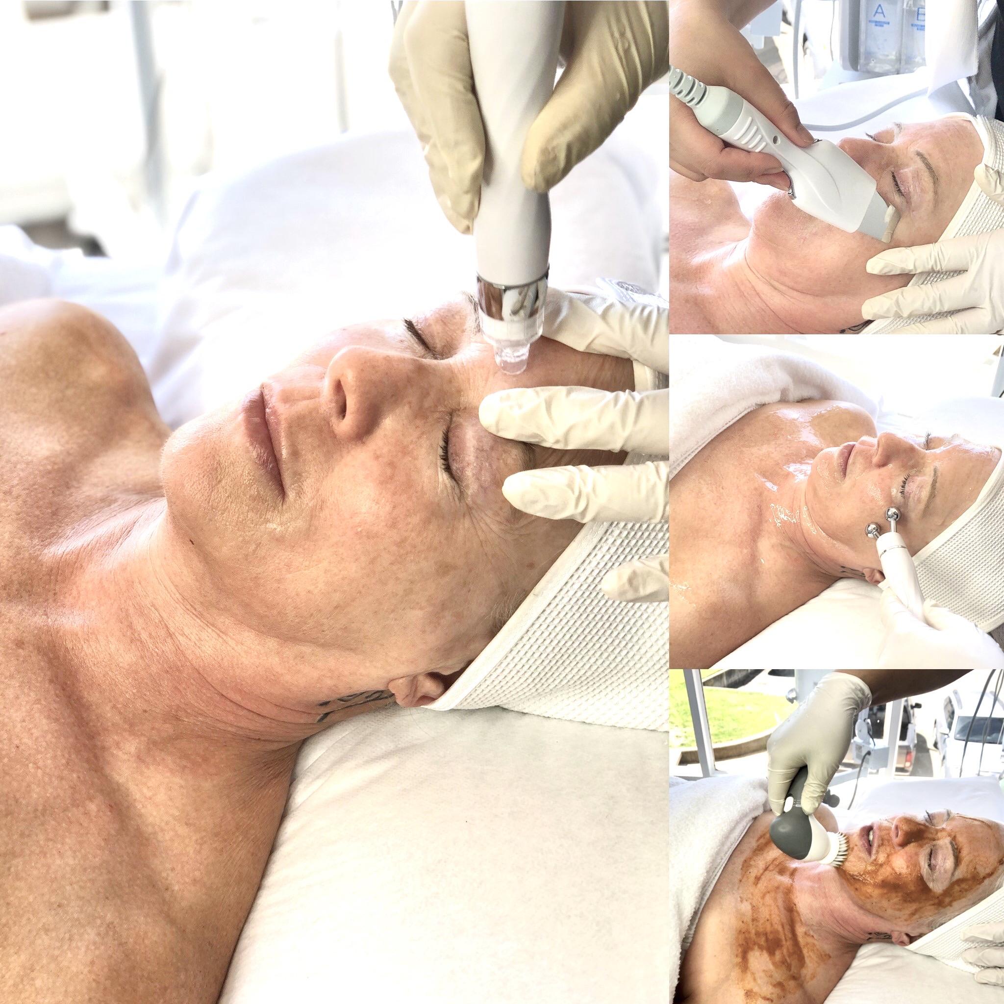 Hydra Organic Facial (our most popular facial)